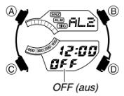 Edifice EFA-131 / 5165 Alarmzeit Einstellen