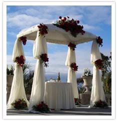 Der Hochzeitsbaldachin Chuppa  Lebenskreis