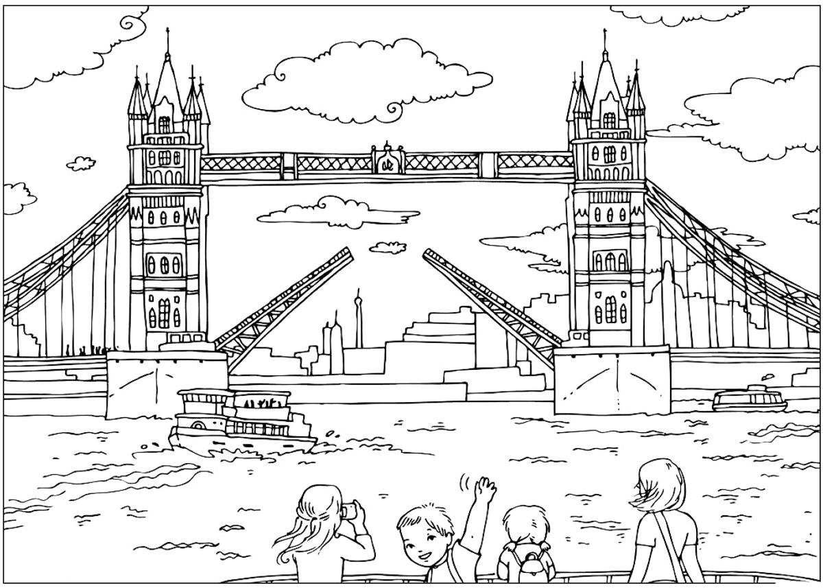 Malvorlagen London Bridge