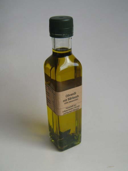 Bärlauch Öl mediterran 250ml