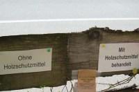 Holzschutz ohne Chemie und Gift in der Praxis angewendet