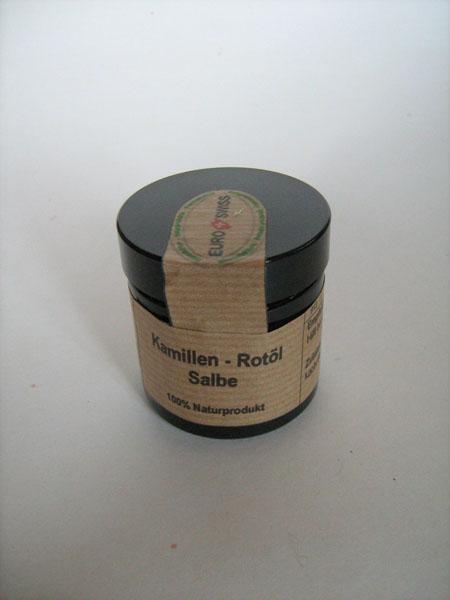 Kamillen-Rotöl Salbe e60ml