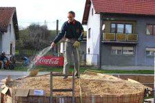 Heizen mit Biomasse - DIY mit wenig Geld Heizung bauen (Teil 1/4) viel Wasser
