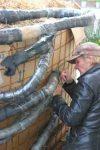Wärme aus Biomasse - Sparen beim Heizen - Anleitung zum Eigenbau (Teil 2/4) BM Klemmen anbringen