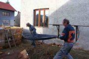 Heizen mit Biomasse - DIY mit wenig Geld Heizung bauen (Teil 1/4) Leitungssegment tragen