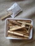 Samentüten selber machen - Samentüten-Vorlagen Gratis herunterladen Klammer am Btl