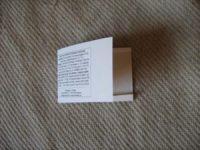 Samentüten selber machen - Samentüten-Vorlagen Gratis herunterladen 1mal falten des Beutels