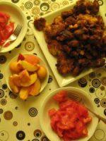 Sommer-Gemüse gebacken