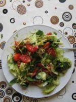 Rohkost-Salat-Durcheinander