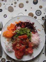 Rohkost Herbstsalat