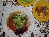 rohköstlicher Salat mit Kernen