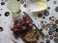 3-teiliges gesundes Frühstück