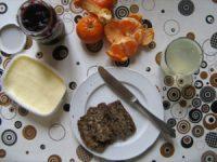 Mandarinen zum Frühstück