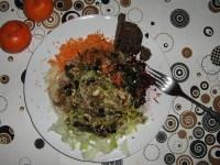 Rohkost Salat mit Eisberg