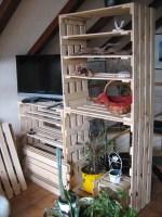 Eine kleine Schwester bauen 3 Messegestelle im Wohnzimmer