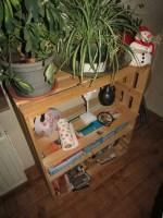 Eine kleine Schwester bauen 1 Gestell im Wohnzimmer