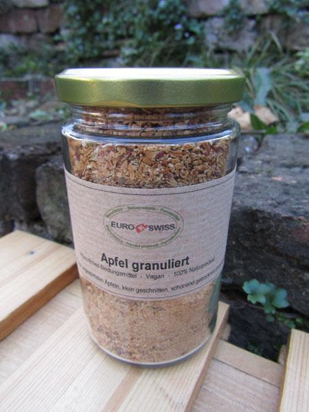 Apfel Granulat veganes Eindickungs Mittel