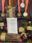 Kornelkirschen als rote Oliven alle 5 Medaillen