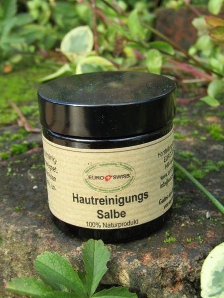 Hautreinigungs Salbe aus Wildkräutern