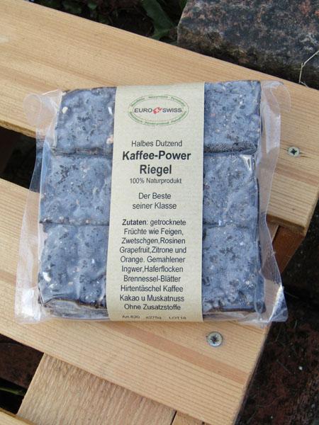 Kaffee-Power Riegel