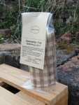 Bienenwachs Tuch für das Pausenbrot im medium Beutel