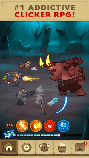 Almost a Hero – RPG Clicker Game with Upgrades cheathackgameplayapk modresources generator 1