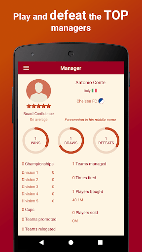 Be the Manager 2018 – Football Strategy 2.2.1 cheathackgameplayapk modresources generator 4