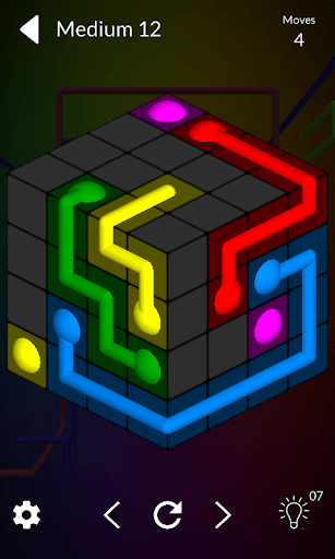Cube Connect Connect the dots cheathackgameplayapk modresources generator 1