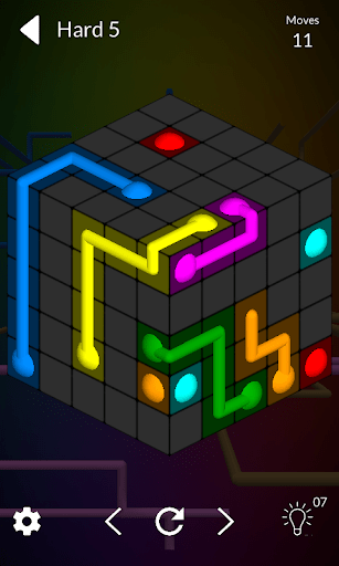 Cube Connect Connect the dots cheathackgameplayapk modresources generator 4