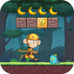 Free Download Monkey Run Adventure – Jungle Story – Banana World APK, APK MOD, Cheat