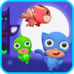 Free Download Super Masks Run: Heroes of Moonlight 1.1 APK, APK MOD, Super Masks Run: Heroes of Moonlight Cheat