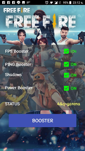Free Fire FPS and PING Booster 1.0 cheathackgameplayapk modresources generator 4