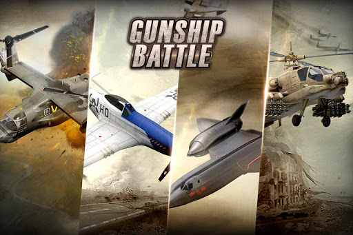 GUNSHIP BATTLE Helicopter 3D cheathackgameplayapk modresources generator 4