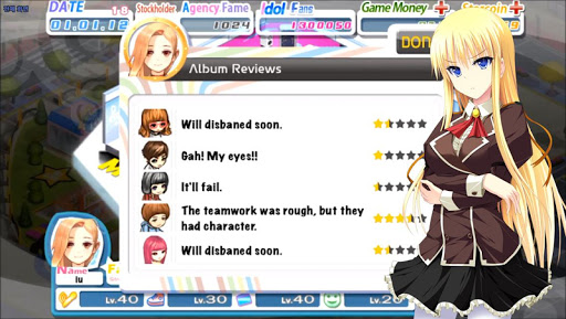 Girl Group Inc Love Idol cheathackgameplayapk modresources generator 3