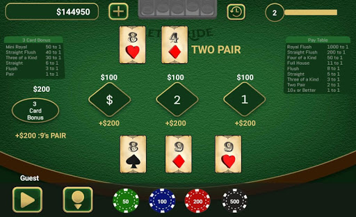Let It Ride Poker cheathackgameplayapk modresources generator 2