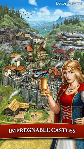 Lords amp Knights – Medieval Building Strategy MMO cheathackgameplayapk modresources generator 2