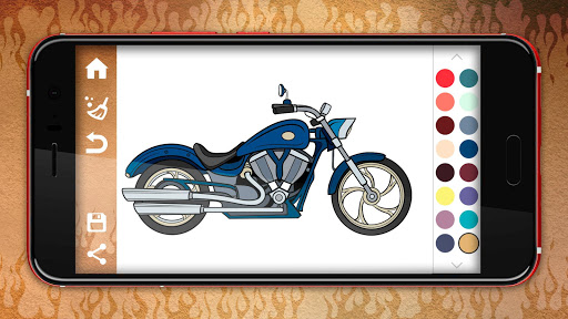 Motorcycles Coloring Pages 1.1 cheathackgameplayapk modresources generator 5