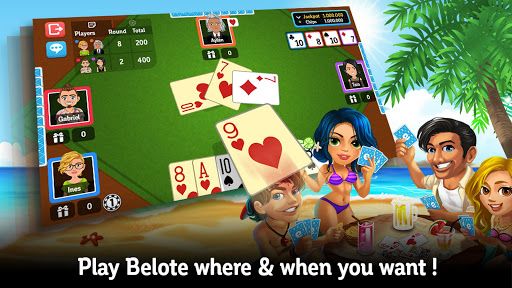 Multiplayer Belote amp Coinche cheathackgameplayapk modresources generator 1
