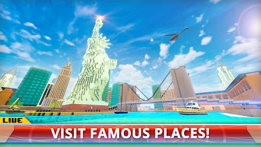New York City Craft Blocky NYC Building Game 3D 1.2 cheathackgameplayapk modresources generator 2