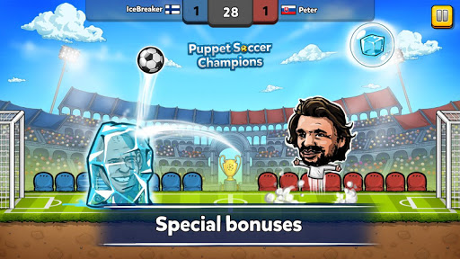 Puppet Soccer Champions League cheathackgameplayapk modresources generator 2