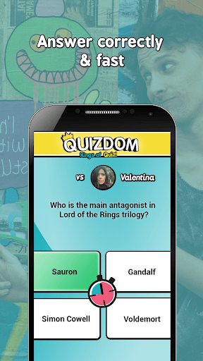 QUIZDOM – Kings of Quiz cheathackgameplayapk modresources generator 4