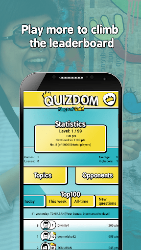 QUIZDOM – Kings of Quiz cheathackgameplayapk modresources generator 5