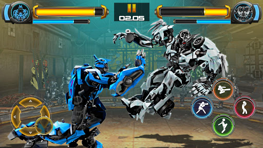 Robot Fighting Games Real Transform Ring Fight 3D 1.4 cheathackgameplayapk modresources generator 5
