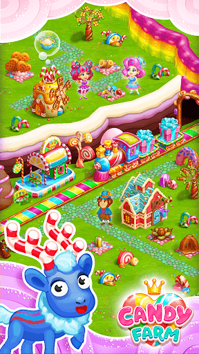 Sweet Candy Farm with magic Bubbles and Puzzles 1.18 cheathackgameplayapk modresources generator 4