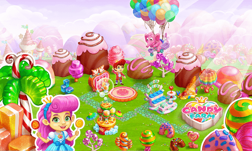 Sweet Candy Farm with magic Bubbles and Puzzles 1.18 cheathackgameplayapk modresources generator 5