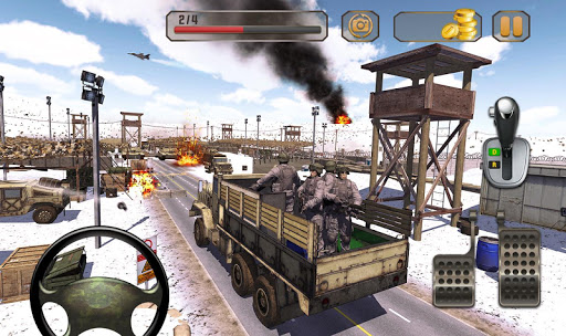 Us Army Truck Driving Real Army Truck 1.3 cheathackgameplayapk modresources generator 4