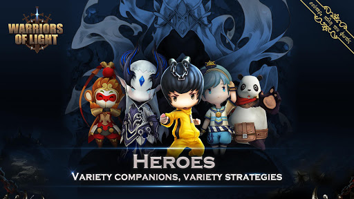Warriors of Light 13.0 cheathackgameplayapk modresources generator 2