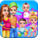 Free Download Mommy Daddy & Newborn Triplets Grown Up Nursery 1.0.5 APK MOD, Mommy Daddy & Newborn Triplets Grown Up Nursery Cheat