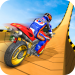 Free Download Mega Ramp Moto Bike Stunts: Bike Racing Games APK MOD Cheat