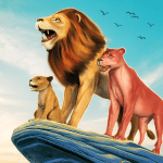 Free Download The Lion Simulator: Animal Family Game APK MOD Cheat